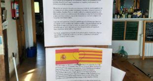ASÍ EXPLICA UN ALBERGUE EN CANTABRIA EL CONFLICTO DE CATALUÑA A LOS PEREGRINOS EXTRANJEROS