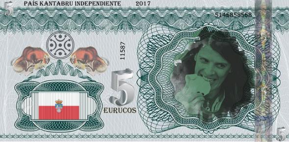 Euruco - Billete de Cantabria Independiente - Ruth Beitia