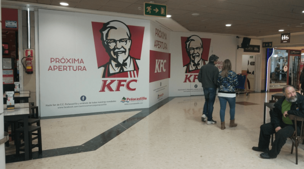 KFC (KENTUKY FRIED CHICKEN) EN SANTANDER