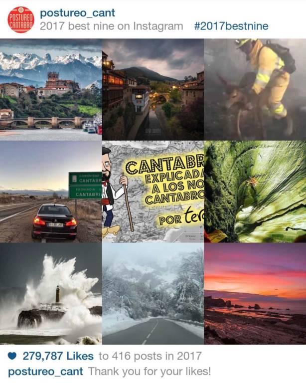 Las 9 fotografías y videos de Cantabria con más ME GUSTA de Instagram