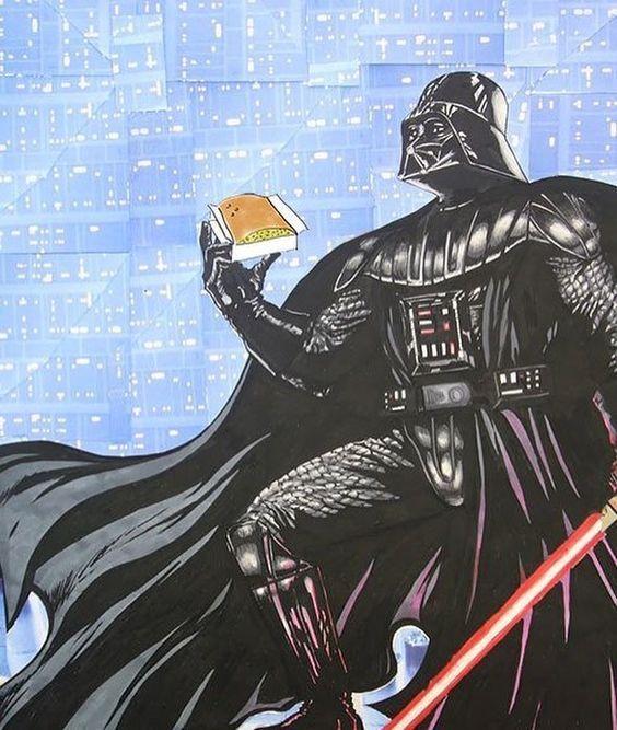 Darth Vader: La Fuerza del sobao Star Wars