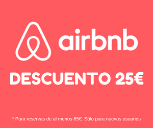 25€ descuento airbnb