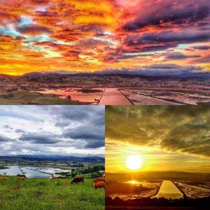 Cortiguera (Suances) en 3 postales