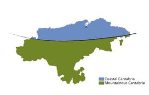 Costa Vs Montañas de Cantabria
