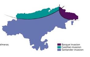 Invasiones en Cantabria