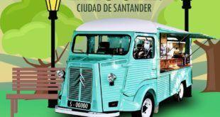 Cartel Campeonato Internacional de Food Trucks Ciudad de Santander