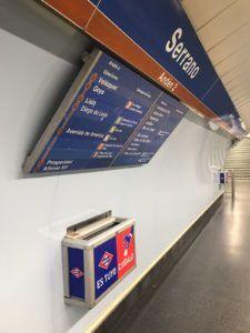 Drama en el Metro de Madrid