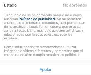 Instagram prohíbe la promoción de la fotografía de Los Raqueros