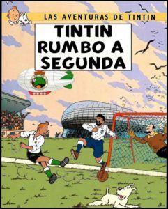 Las aventuras de Tintín - Rumbo a Segunda