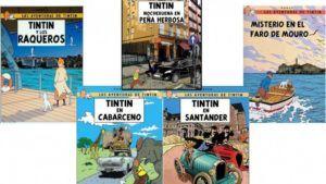 Las aventuras de Tintín en Santander