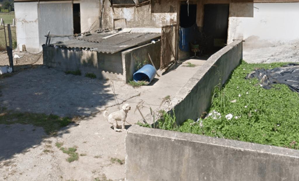 Captura de Google Street View de la casa de Escalante (Cantabria)