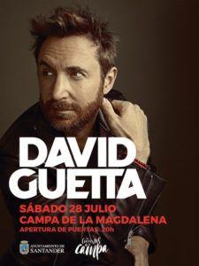 Entradas David Guetta en Santander