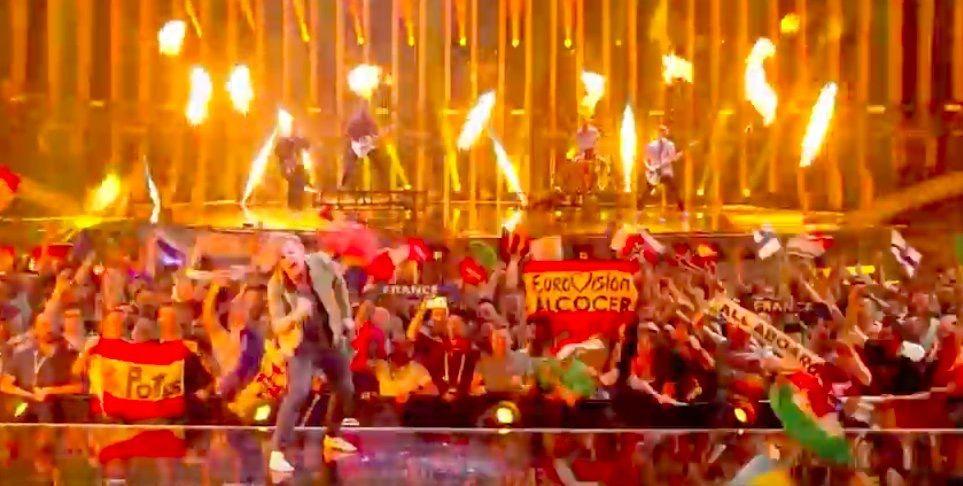 Potes en la semifinal de Eurovisión en Lisboa