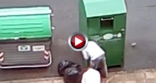 Video Containers de reciclaje de ropa de Castro Urdiales Cantabria