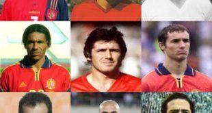 Futbolistas cántabros en la selección española de fútbol