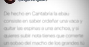LA RESPUESTA DE ÉPICA DE UN CÁNTABRO SOBRE LA DIFICULTAD DE LA SELECTIVIDAD