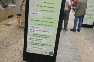 Mensajes de Whatsapp machistas - @gottabeClau