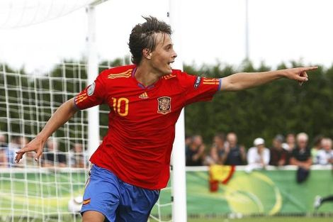 Sergio Canales - Selección española