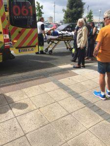 Ambulancia en Marqués de la Hermida (Santander) - jorgedavila14