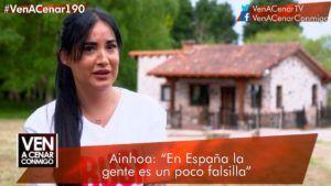 Ainhoa - Ven a cenar conmigo llega a Cantabria