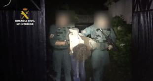 Luciano es detenido por la Guardia Civil en Turieno (Cantabria)