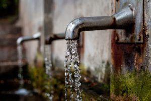 Bebe mucha agua durante la ola de calor