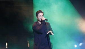 """David Bustamante suspende su concierto en Elche por """"dos pedradas"""""""