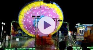 VIDEO Accidente de una atracción durante las fiestas de la Patrona 2018 de Torrelavega
