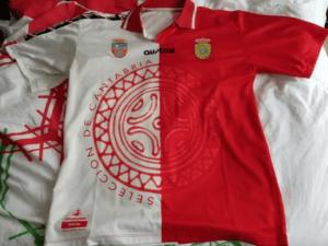 Camiseta Selección Cántabra de Fútbol