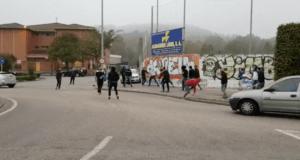 INCIDENTES VIOLENTOS EN EL GIMNÁSTICA DE TORRELAVEGA - UD LOGROÑÉS