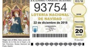 """93754 EL NÚMERO DE POSTUREO CÁNTABRO PARA """"EL GORDO DE NAVIDAD"""""""