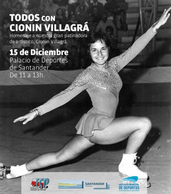 Todos con Cionín Villagrá - Homenaje en Santander