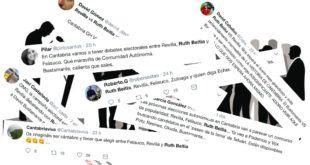 Actualidad política de Cantabria en Twitter