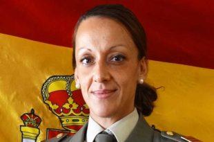 Cabo Elena Valdés Alba, militar cántabra que socorrió a una mujer en la A-8