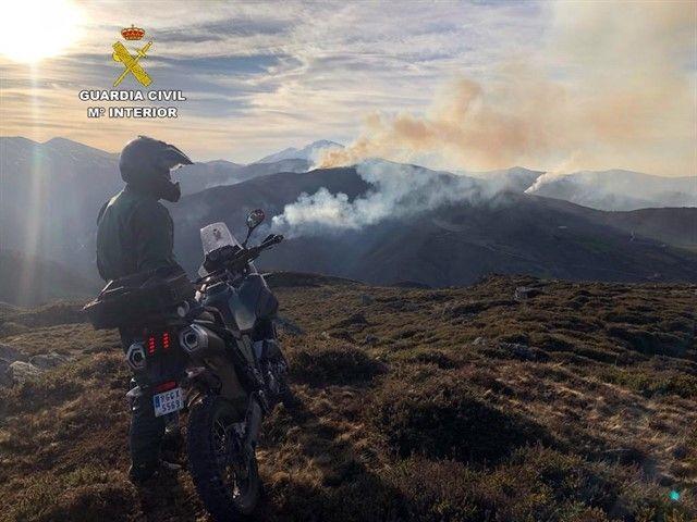 DETENIDO EL JEFE DE VOLUNTARIOS DE PROTECCIÓN CIVIL DE RAMALES POR PROVOCAR UN INCENDIO