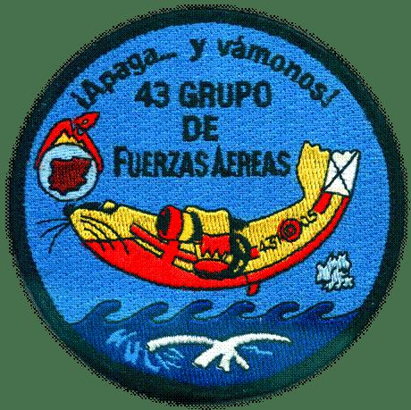 Parche hidroavión 43 grupo