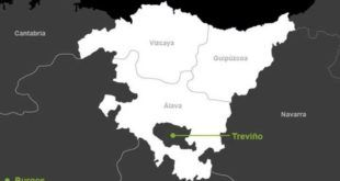 Futura nación vasca incluye parte de Cantabria