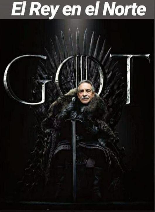 El meme de Revilla más viral - El Rey en el Norte