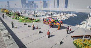 Un bisonte de Okuda será el icono del Malecón de Puerto Chico (Santander)