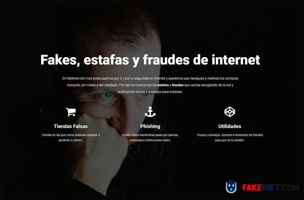 fakeinet.com Fake, estafas y fraudes en Internet