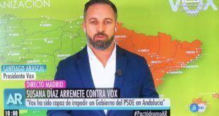 EL DESCONCERTANTE MAPA DE CANTABRIA DE VOX EN EL PROGRAMA DE ANA ROSA