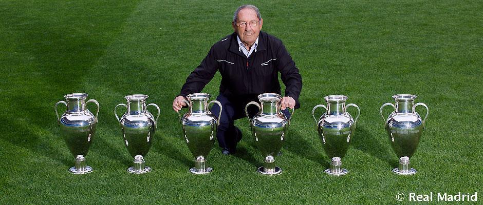 PACO GENTO: EL FUTBOLISTA CON MÁS CHAMPIONS LEAGUE DE LA HISTORIA - Real Madrid