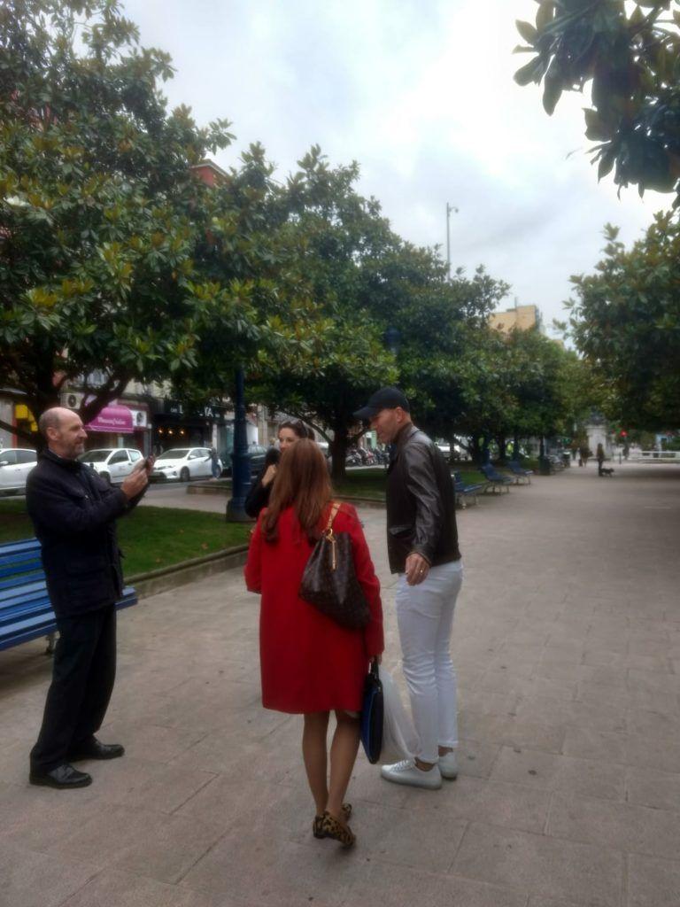 ZINEDINE ZIDANE DE VACACIONES EN SANTANDER (CANTABRIA)