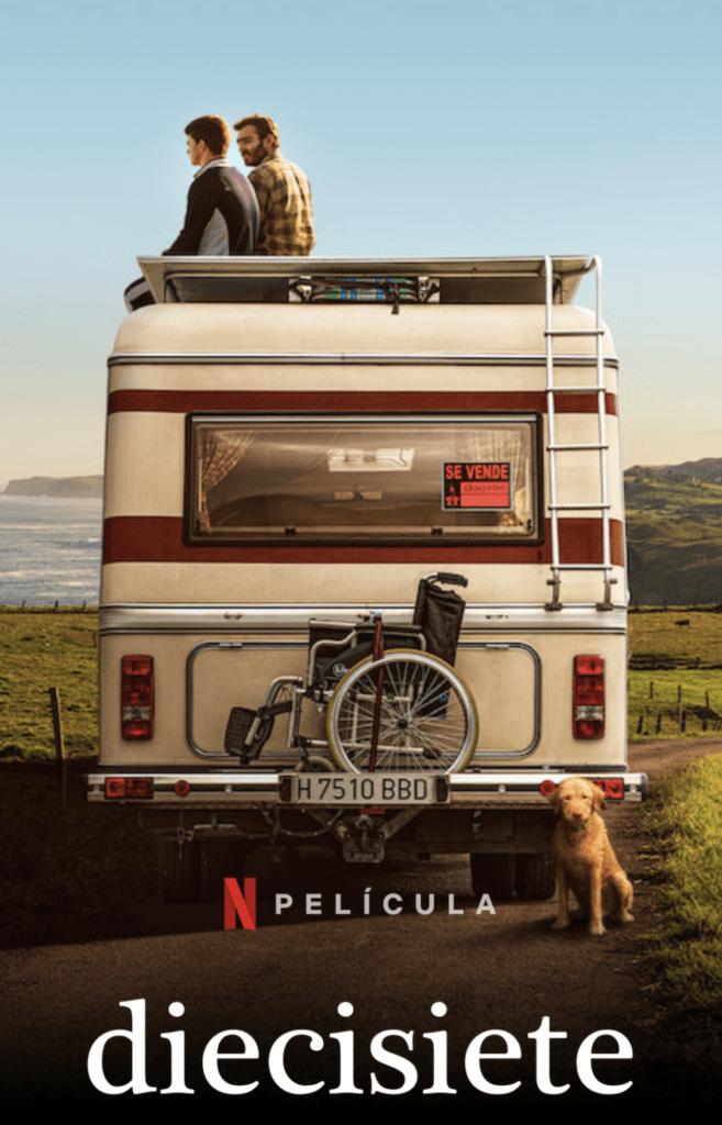 CARTEL - Diecisiete, una película de Netflix filmada en Cantabria