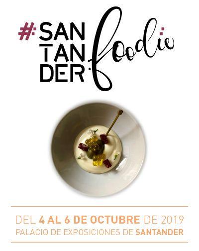 Cartel Santander Foodie