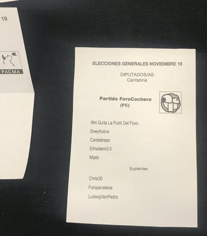 ForoCoches se cuela en las Elecciones Generales en Cantabria