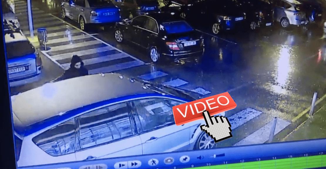 Video Se busca Este hombre acaba de robar un coche en Argoños Cantabria