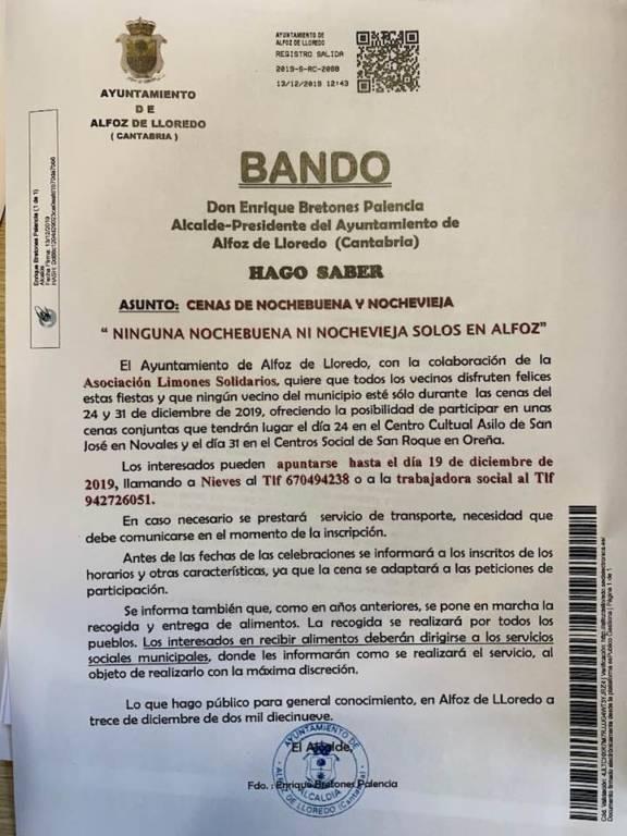 Ayuntamiento de Alfoz de Lloredo (Cantabria)