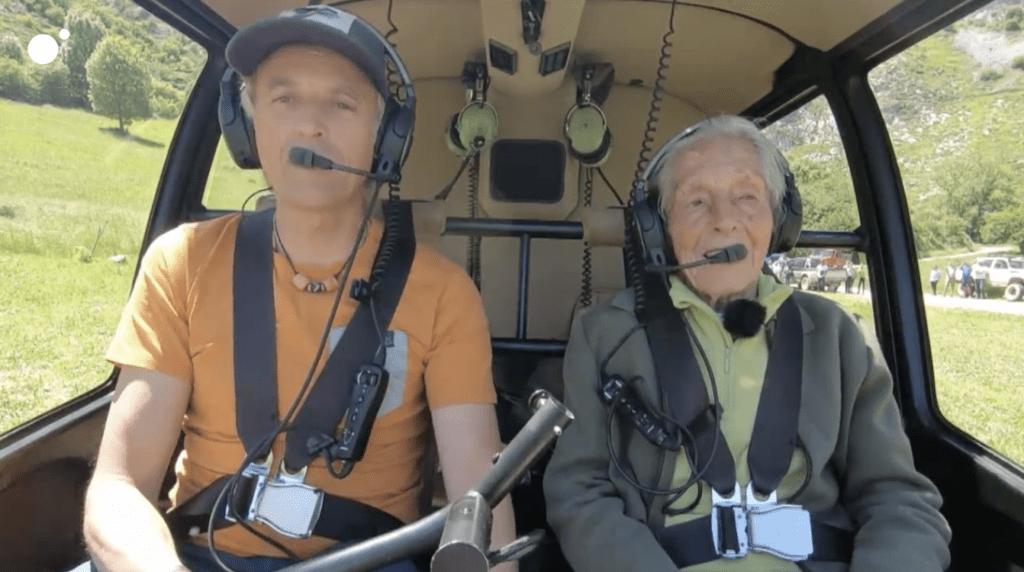 Volando Voy en el Camino Lebaniego - Jesús Calleja y Hermina