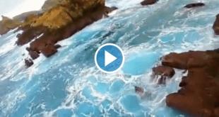 VIDEO LA COSTA QUEBRADA A VISTA DE DRONE COMO NUNCA LO HABIAS VISTO